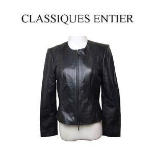 Classiques Entier soft Leather Jacket. Sz SP